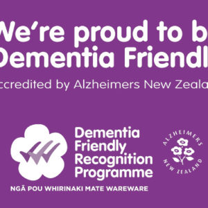 Enliven Northern is a Dementia Friendly organisation!