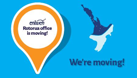 Enliven Rotorua's new location