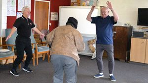 Enliven Counties Manukau Day Programme for people with dementia, physical activity, dancing, movement