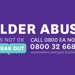 Elder Abuse Awareness week 2020