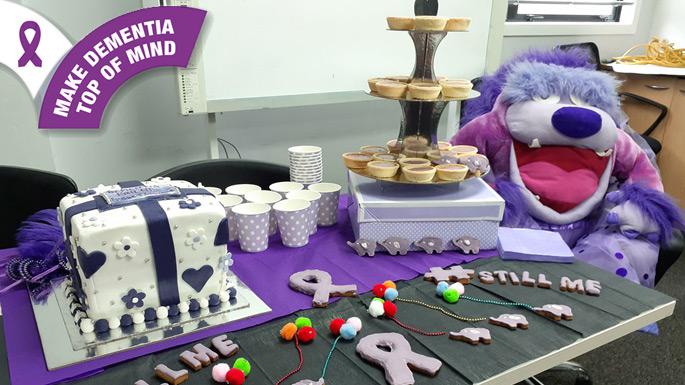 Purple Bake Off for Dementia!