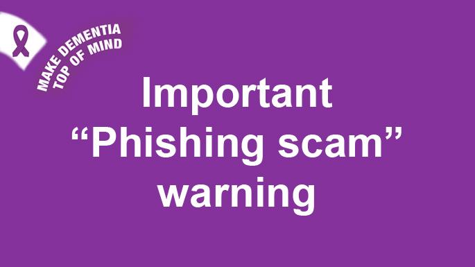 Phishing scams September 2020