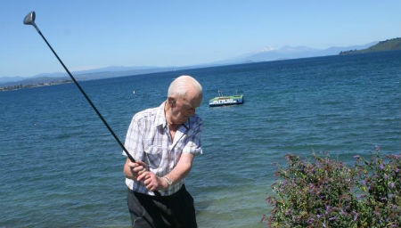 """""""Mr Competitive"""" still going strong at 98"""
